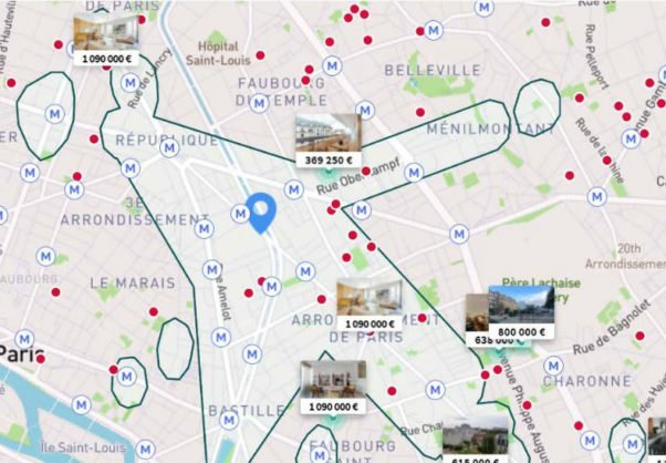 French property platforms SeLoger has improved the search function for its clients.