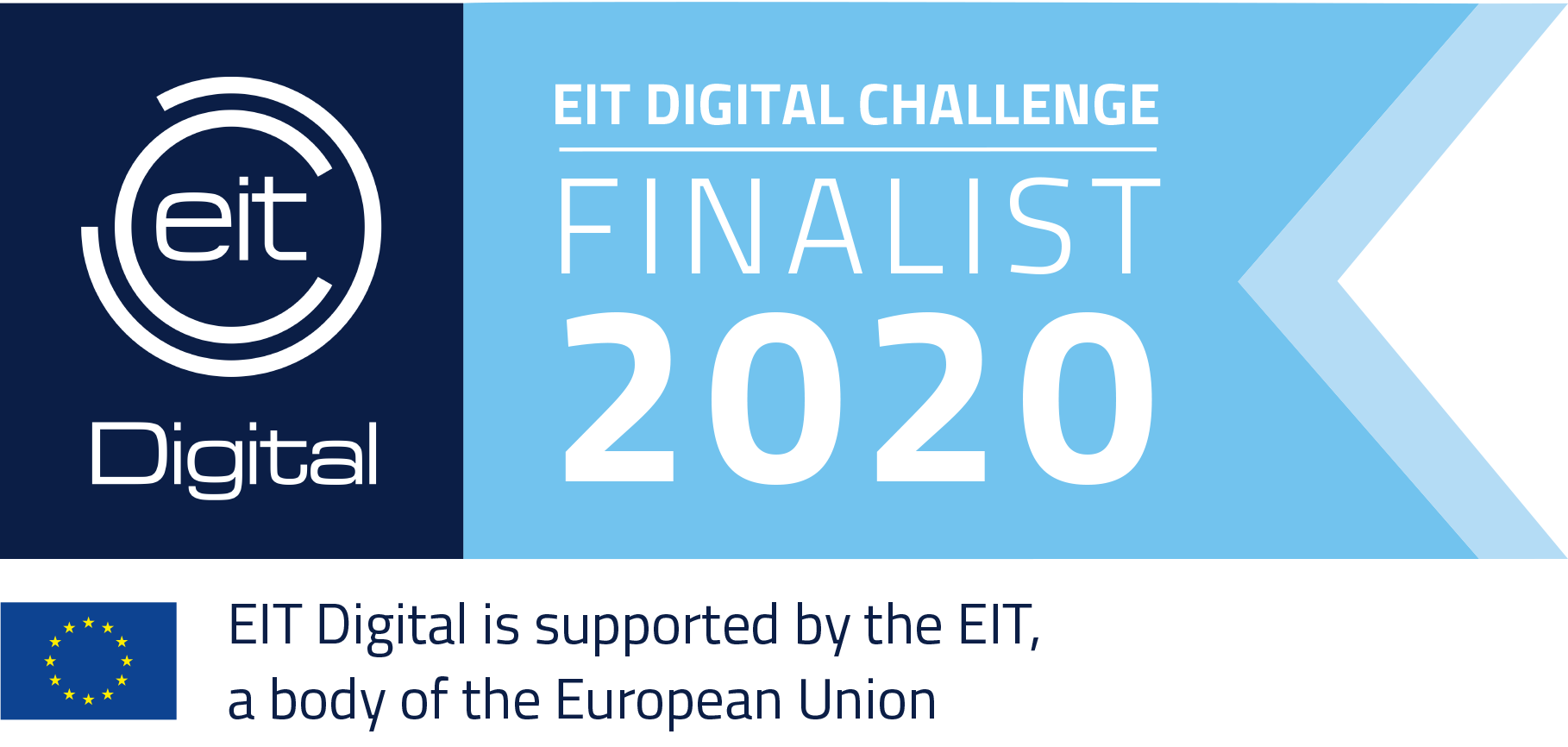 EIT Digital is part of the EIT (European Institute of Innovation and Technology), an EU body which fosters innovation and entrepreneurship.